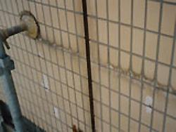 水アカ、汚れの除去工事