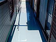 プライマー下塗り後 ウレタン防水